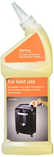 Best Review Of Bonsaii Paper Shredder Lubricant Oil for Home Tools, 12 oz. / 400ml