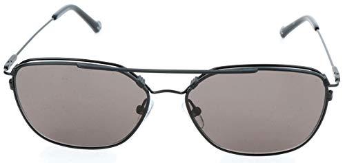 adidas Sonnenbrille AOM011 Occhiali da sole, Nero (Schwarz), 56.0 Unisex-Adulto