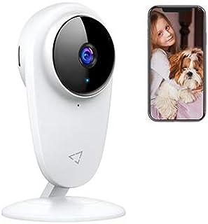 ネットワークカメラ WiFi Victure 1080P 200万画素 2.4Ghz WiFi IPカメラ 屋内ワイヤレス防犯カメラビー/老人/ペット見守り 動体検知 双方向音声 暗視撮影 警報通知