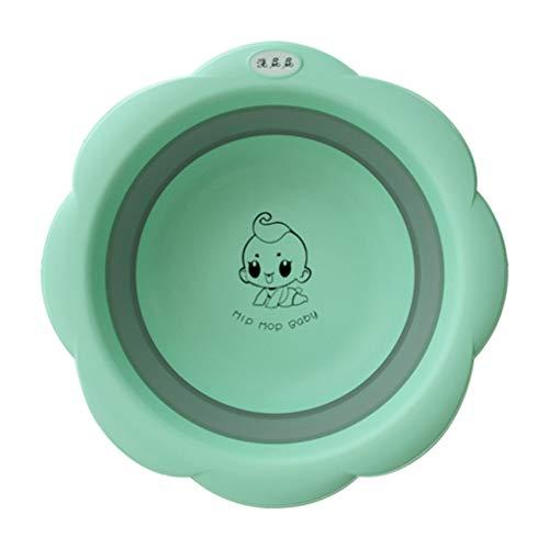 Toyvian Lavabo Plegable Lavabo Portátil Lavabo de Ahorro de Espacio Bañera de Plástico para Niños Pequeños Bebé