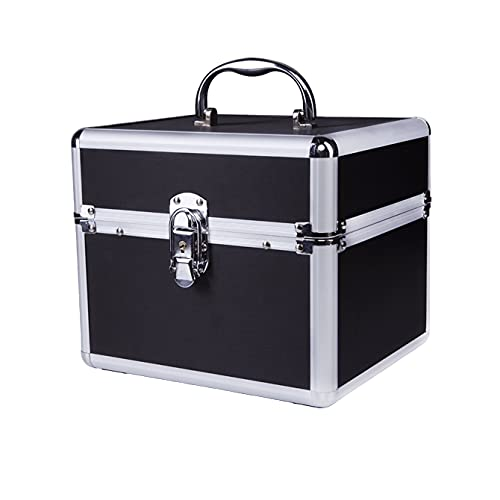 NEONAIL Kosmetikkoffer Box Schmuckkoffer Beauty Case Schwarz