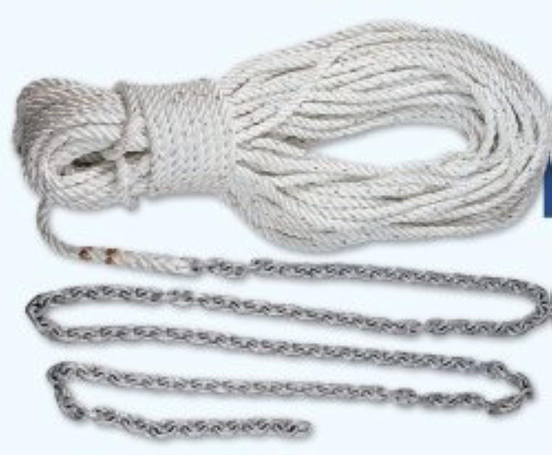 Lewmar 10' 1 4 G4 Chain 150' 1 2 W5 16 Rope by Lewmar