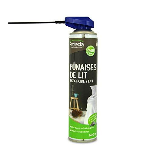 Insecticides ménagers Bombe aérosol Contre Les punaises de lit, Protection Longue durée