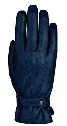 Roeckl Sports Winter Handschuh -Wago- Unisex Reithandschuh, Marine antik, 8