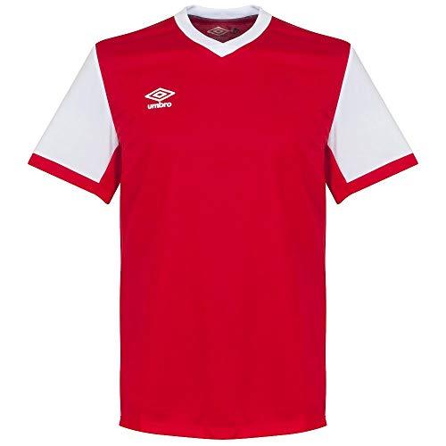 Umbro Witton Team Trikot - rot/weiß - XL