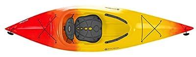 9330875042 Perception Conduit 9.5 Kayak, Red/Yellow from Confluence Kayak