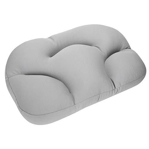 Zwindy Kissen, strapazierfähiges hautfreundliches Schaumkissen, atmungsaktiv für Schlafzimmer Frau Mann Zuhause(Gray)