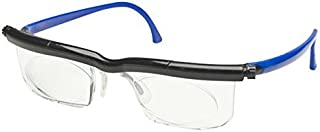 Adlens Adjustables Variable Focus Eyeglasses - You Set the Magnification for a Perfect View BKBU by ADLENS
