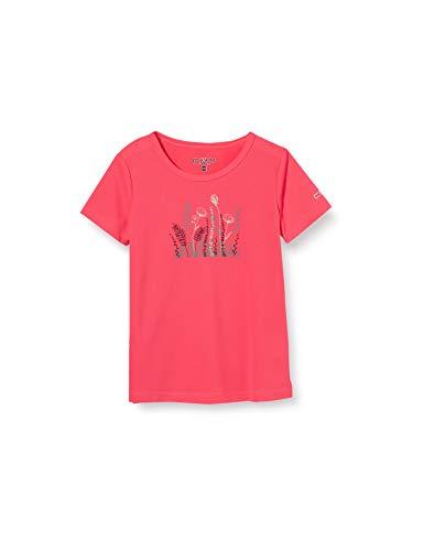 CMP T-Shirt Respirant pour Fille avec Traitement antibactérien. XXL Gloss.