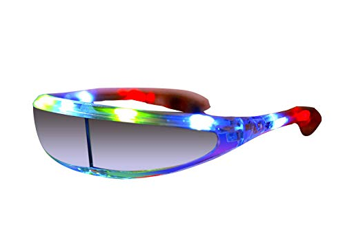 NEO+ Party-LED-Gläser, viele Farben Blinkende Gläser (Batman)