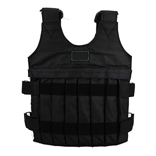 Alomejor Sport Weighted Vest Workout Equipment 20kg Adjustable Weight Body Weight Vest with 16 Bags
