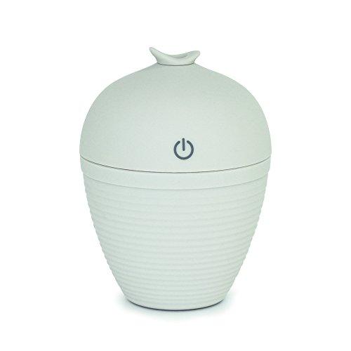 WYWML Humidificador De Aromaterapia, Mini Humidificador De Oficina USB, Humidificador De Aire para La Tos del Sueño Gris