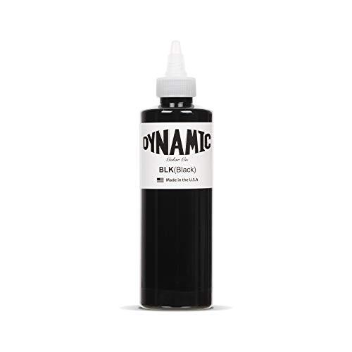 Dynamic Black Tattoo Ink