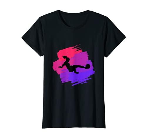 Jugador de fútbol deportivo para mujeres y niñas fuertes Camiseta
