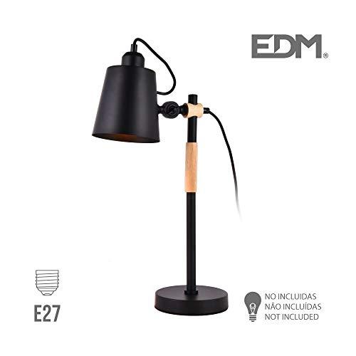 EDM Flexo Simple Industrial e27 Noir