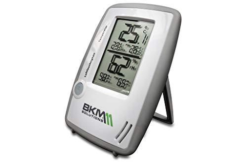 BKM MANNESMANN Digitales Thermo-Hygrometer Wohnklima-Messgerät