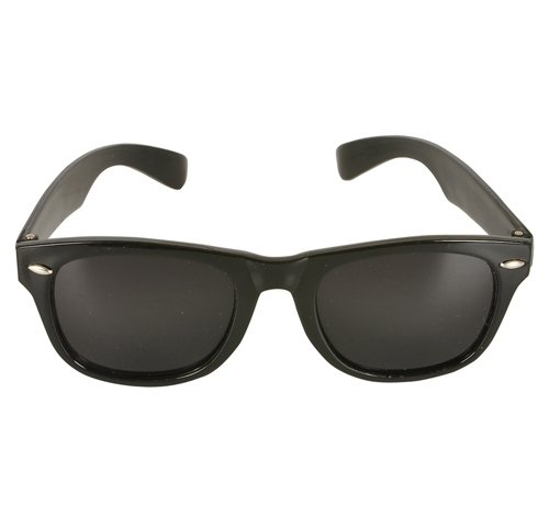 Sale!! DollarItemDirect Black Super Sunglasses, Case of 300