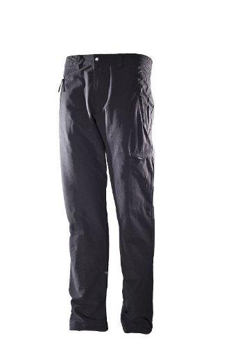Hot Sportswear Pantalon Thermique pour Homme Pare-Vent Noir, 58
