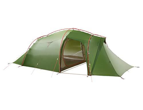 VAUDE 4-personen-zelt Mark XT 4P, vielseitiges 4 Personenzelt, sehr windstabil, leicht aufzubauen, green, one Size, 142144000
