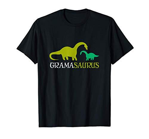 Cute And Sweet Grandma Family Dino Grandmasaurus Funny Gift Maglietta