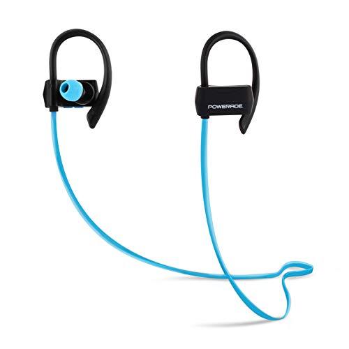 POWERADE 480022 Écouteurs Sport Bluetooth avec kit Mains Libres intégré Noir