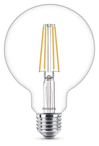 Philips Lighting Lampadina LED Globo, Sostituisce 60W, E27, Bianco caldo (2700 Kelvin), 806 Lumen, Globo [classe energetica A ++]
