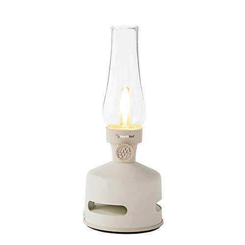 LED Lantern Speaker LED ランタンスピーカー 充電式 USB bluetooth BEACH HOUSE (ホワイト色)