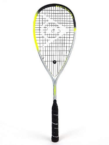 Dunlop Sports Hyperfibre Squashschläger XT Revelation 125, grün/Silber, One Size
