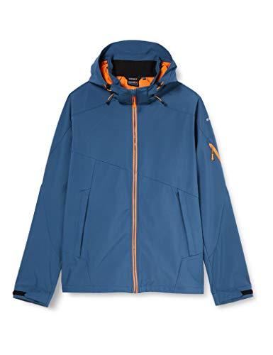 Icepeak Barling Softshell Chaqueta para hombre, Hombre, chaqueta softshell, 557920544I, azul, 56