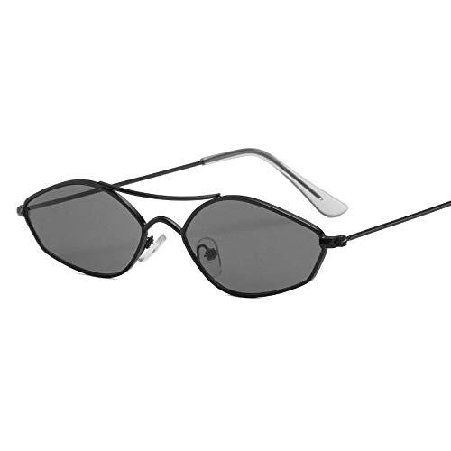 Moda Gafas De Sol con Montura Metálica para Mujer, Gafas Punk Vintage, Sombrillas De Moda, Gafas De Diseñador De Lujo Femenino 1