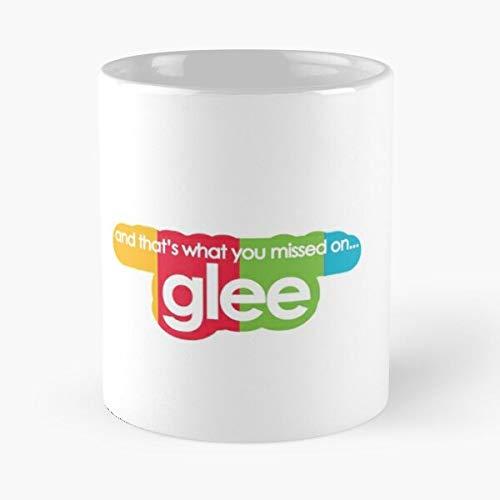 Nuevo Blaine Rachel Anderson Finn Berry Santana Murphy Ryan López Kurt Hudson Glee Hummel Directions Mejor Taza de café de cerámica de 11 oz Personalizar
