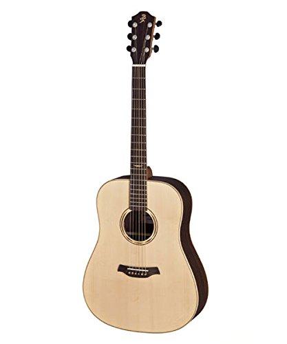 Baton Rouge 112115 Dreadnought guitarra clásica, zurdos, masiva carcasa de abeto canadiense