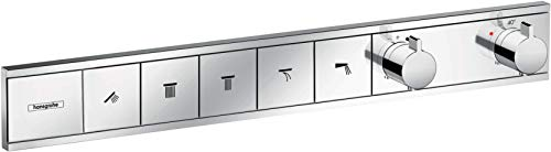 hansgrohe Unterputz Thermostat RainSelect (für 5 Funktionen) chrom