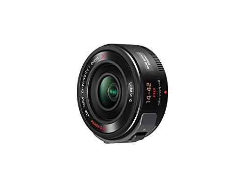 PANASONIC LUMIX G X Vario Power Zoom Lens, 14-42MM, F3.5-5.6 ASPH, MIRRORLESS Micro Four Thirds, Power O.I.S, H-PS14042K (USA Black) (Renewed)
