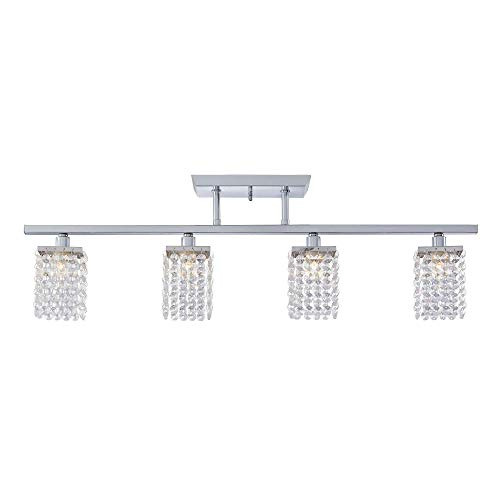NOMA Fixed Track Lighting | Crystal Pendant Ceiling Track...