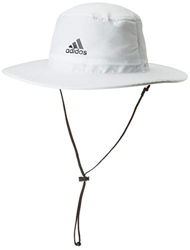 adidas Herren Golf Sonnenhut UPF, Herren, Mütze, Golf Men's UPF Sun Hat, weiß, Small-Medium
