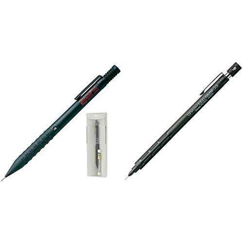 【セット買い】ぺんてる シャープペン スマッシュ0.5 ギフトケース 替消しゴムおまけ AMZ-Q1005-1-G & シャープペン グラフ1000 フォープロ PG1003 0.3mm