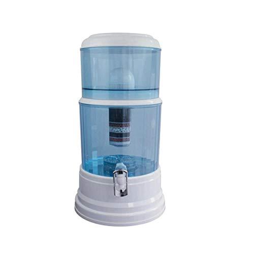 20L 8 Stage Fluoride Water Filter Maifan Stone Dispenser Bottle Total 3 Filters