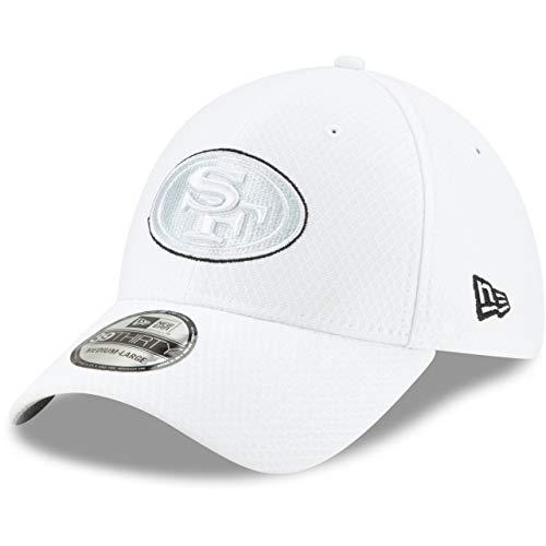 New Era 39Thirty Cap - Platinum Sideline San Francisco 49ers