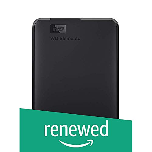 WD 1TB Elements Portable External Hard Drive - USB 3.0...