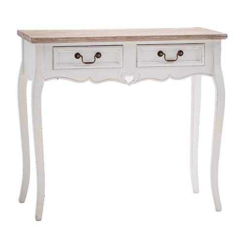 Maine Furniture Co., Vermont, Tavolino, Bianco, 87 x 38 x 80 cm