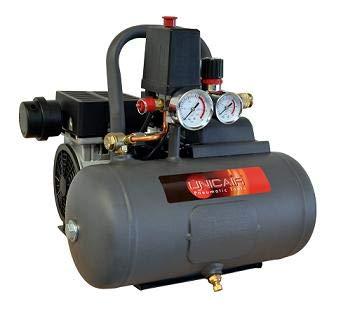 HIDRORAIN Compresor Silencioso 1hp, Calderin 6l. 0819013