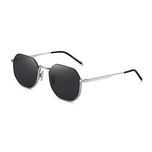 HAYI Gafas de Sol Gafas De Sol De Mill Frame Men's Y Gafas...
