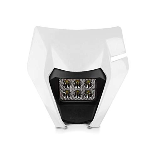 Set Faro LED para Aprilia RX 125/50 con Mascara BK2 Blanco