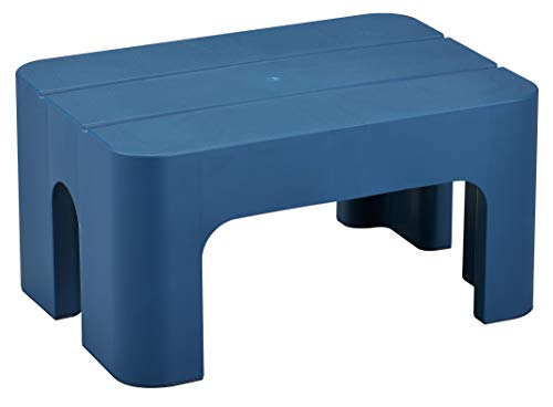 サンカ キャンプ 椅子 踏み台昇降 釣り 洗車 子供 お年寄り ペット用 踏み台 ステップ ディープブルー (幅39.5×奥行28×高さ30cm) S&W SWST-DBL 日本製