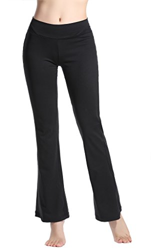 Lotus Instyle Damen Yoga Pants Komfortable Lose Sports Leggings Black-S