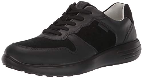 Ecco Herren SOFT7RUNNERM Sneaker, Schwarz (Black/Black/Black 51094), 46 EU