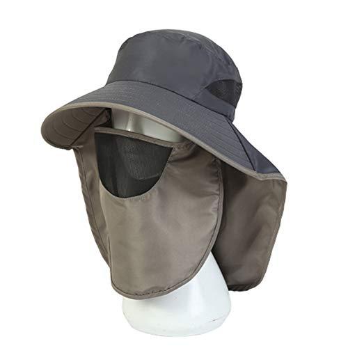 WPCASE Gorras Y Sombreros ProteccióN UV Sombrero Hombre Sombrero Mujer Sombrero Sombrero Pescador Gorro De Pescador Gorro Explorador Sombrero Explorador Sombreros Hombre Darkgray