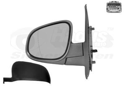 Retrovisor eléctrico izquierdo negro para Renault Kangoo 6/13 hasta el final de...
