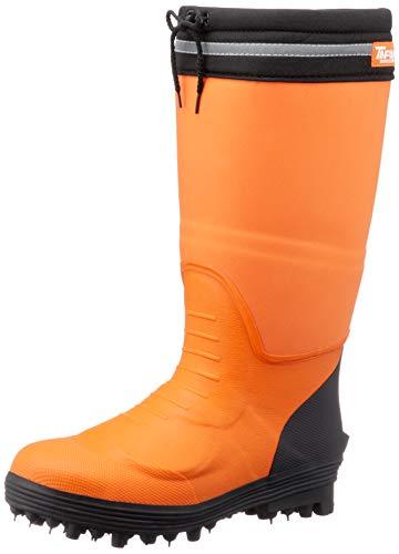 [ソウカイドウ] 甲プロテクト 安全スパイク長靴 スパイクタフマン・プロ メンズ オレンジ 29 cm